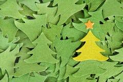 Weihnachtsbäume Stockfotos