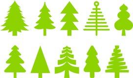 Weihnachtsbäume Lizenzfreie Stockfotografie
