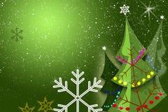 Weihnachtsbäume Stockfoto