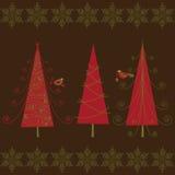 Weihnachtsbäume Lizenzfreie Stockbilder