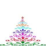 Weihnachtsbäume der Farbe Lizenzfreie Stockfotos