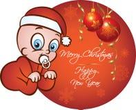 Weihnachtsbaby Lizenzfreie Abbildung