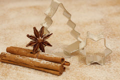 Weihnachtsbacken Lizenzfreies Stockbild