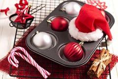Weihnachtsbacken Lizenzfreies Stockfoto