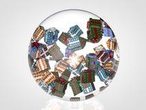 Weihnachtsball Lizenzfreies Stockbild