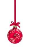 Weihnachtsball. Stockfotografie