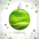 Weihnachtsball Stockbild