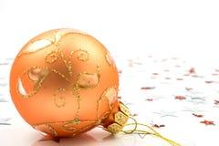 Weihnachtsball Stockfoto