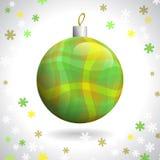 Weihnachtsball Lizenzfreie Stockfotos