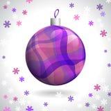 Weihnachtsball Stockfotos