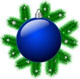 Weihnachtsball Lizenzfreies Stockfoto