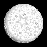 Weihnachtsball lizenzfreie abbildung