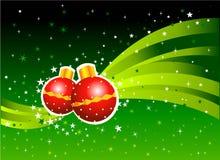 Weihnachtsball stockfotografie