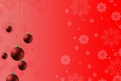 Weihnachtsball Plan Lizenzfreies Stockfoto