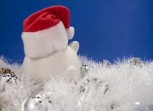 Weihnachtsbankverkehr Stockfoto