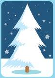 Weihnachtsbaum. vektor abbildung