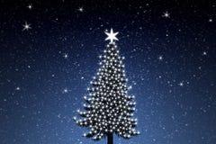 Weihnachtsbaum 2 stock abbildung