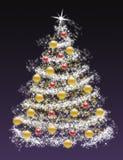 Weihnachtsbaum 2009 Stockbild