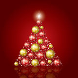 Weihnachtsbaum vektor abbildung