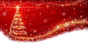 Weihnachtsbaum lizenzfreie abbildung