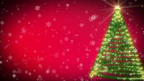 Weihnachtsbaum stock footage