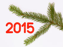 Weihnachtsbaum 2015 Stockbild