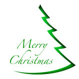 Weihnachtsbaum auf weißem Hintergrund stockfoto