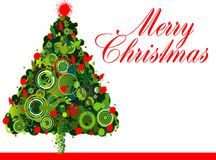 Weihnachtsbaum-Auslegung Lizenzfreie Stockfotografie