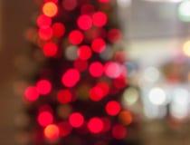 Weihnachtsbaum Bokeh Lizenzfreie Stockbilder