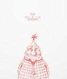 Weihnachtsbaum-Charakter Lizenzfreie Stockfotos