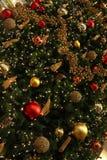 Weihnachtsbaum-Dekoration Stockbilder