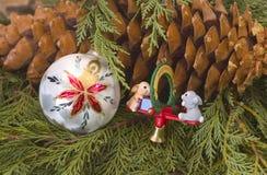 Weihnachtsbaum-Dekoration stockfotografie