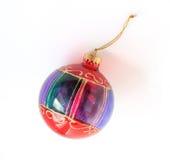 Weihnachtsbaum-Dekorationflitter lizenzfreies stockfoto