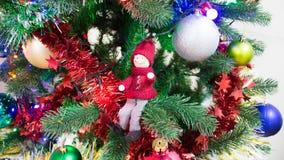 Weihnachtsbaum-Dekorations-Russe-Art Stockbilder