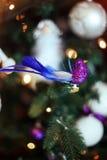 Weihnachtsbaum-Designspielzeug Lizenzfreie Stockbilder