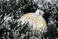 Weihnachtsbaum-Flitter Stockbild