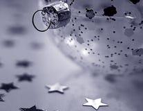 Weihnachtsbaum-Flitter Stockfotos