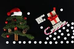 Weihnachtsbaum-Formhintergrund Lizenzfreies Stockfoto