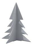 Weihnachtsbaum gebildet vom Papier Stockfotos