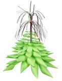 Weihnachtsbaum gebildet vom Papier Lizenzfreies Stockfoto