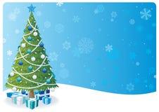Weihnachtsbaum-Hintergrund 2 Lizenzfreies Stockfoto