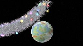 Weihnachtsbaum im Raum Lizenzfreie Stockfotos