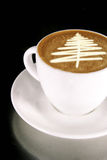 Weihnachtsbaum-Kaffee Lizenzfreies Stockbild