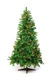 Weihnachtsbaum mit bunten Lichtern Lizenzfreie Stockbilder