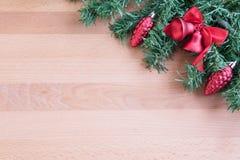 Weihnachtsbaum mit Dekoration Lizenzfreies Stockfoto