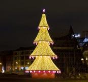 Weihnachtsbaum, Moskau Lizenzfreies Stockfoto