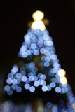 Weihnachtsbaum nachts Stockbilder