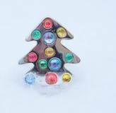 Weihnachtsbaum Pin Lizenzfreie Stockfotos