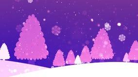Weihnachtsbaum Retro- 4 stock video