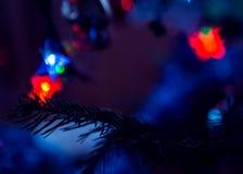 Weihnachtsbaum ` s Spielzeug Stockbild